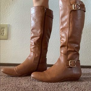 Style&Co brown boots